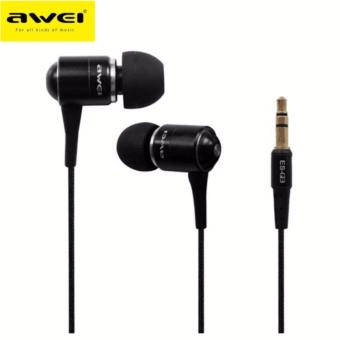 Awei ES-Q3 In-Ear Earphone Noise Isolation(Black)