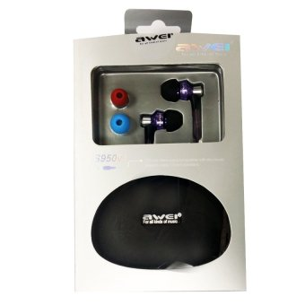 Awei S950vi High Performance in Ear Headphone (Dark Violet)