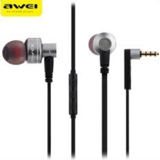 Awei Subwoofer In-ear Earphones ES10TY (Grey)