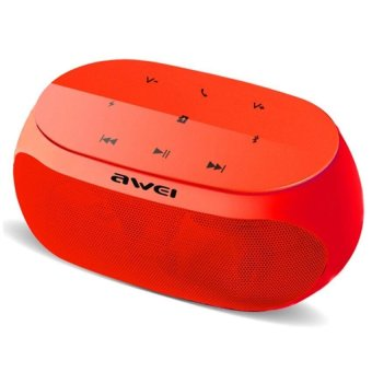Awei Y200 HiFi Wireless Portable Bluetooth Speaker with TF/AUX Slot (Red)