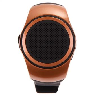 B20 Watch Style TF Card Portable Sport Bluetooth Speaker (Gold Brown) - picture 2