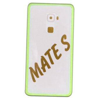 BackCase/SeniorCase For Huawei Mate S (Acrylic) PC/TPU (Green)