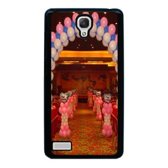 Balloon Pattern Phone Case for Xiaomi Redmi Note (Black)