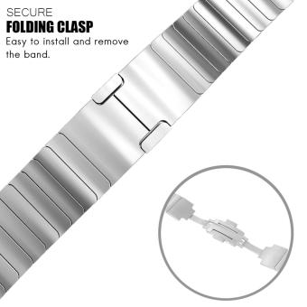 Band for Apple Watch Series 3 Series 1 Series 2 42mm Stainless Steel Strap - 3