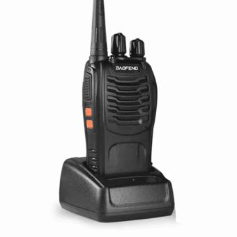 Baofeng 888S 5W 16Ch 400-470MHz Interphone Two-Way Radio Walkie Talkie (Black) Set of 2 - 2