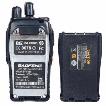 Baofeng BF-888S Portable Two-Way Radio 2PCS (Black) - 5