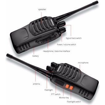 BaoFeng BF-888S VHF UHF FM Transceiver Walkie Talkie Two-Way Radio set of 10 - 4