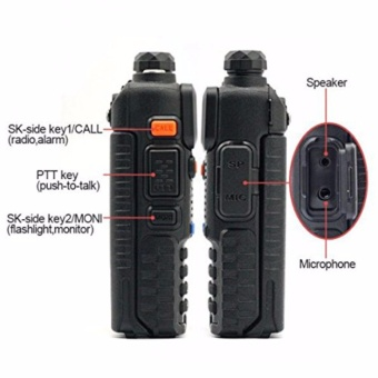 BAOFENG UV-5R Dual Band (VHF/UHF) Analog Portable Two-way Radio Set of 5 - 2