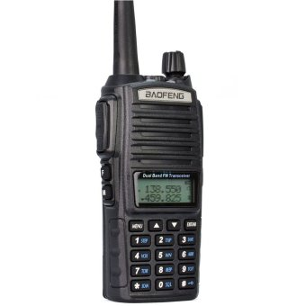 Baofeng UV-82 Dual Band VHF 136 - 174MHz / UHF 400 - 520 MHz FMTransceiver Walkie Talkie Two Way Radio (Black)