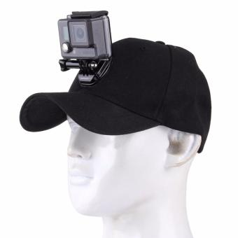 Baseball CAp Hat for GoPro Hero 5/4/3+/3/2/1 with Quick Release Buckle Mount