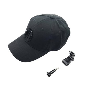 Baseball Hat Cap with J-hook Buckle Mount For GoPro Hero 5S 5 4S 4 3+ 3 2 1 XiaoYi SJcam Camera - intl