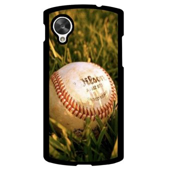Baseball Pattern Phone Case for LG Nexus 5 (Multicolor) - picture 1