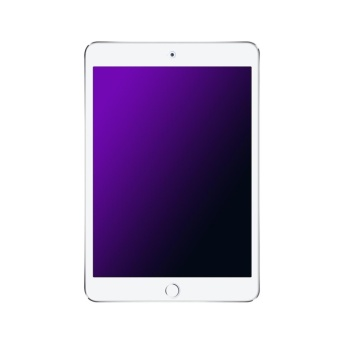 BASEUS for iPad 9.7-inch (2017) Anti-blue-ray Arc Edge Full ScreenTempered Glass Protector - Transparent - intl