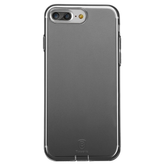 Baseus Ultra Slim Phone Case Transparent Dustproof for iphone 7 Plus(Black) - 3