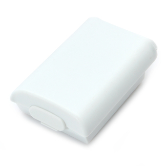 Battery Cover Case for Xbox 360 Wireless Controller White