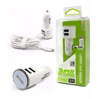 Bavin 3.4A Dual USB Output Fast Car Charger for Android QuickCharge