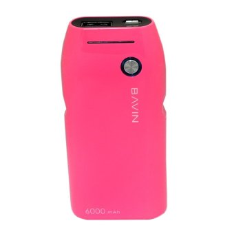 Bavin 6000mAh Power Bank (Pink) - picture 2
