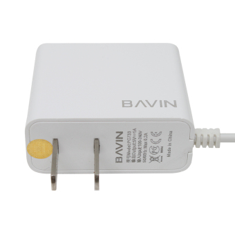 BAVIN Fast Charger with 2 USB Ports iPhone 6 (White) with Free USBCard Reader - 2