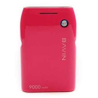 Bavin iPower 9000mAh Power Bank (Hot Pink)