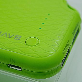 BAVIN PC171 12000mAh Quick Charging Power Bank (Green) + FreePremium Leather Card wallet - 3