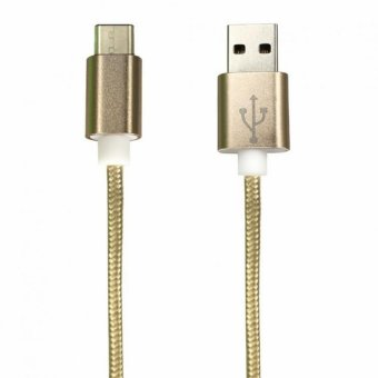 Bavin USB Type-C Charger and Data Cable for Apple Google ChromebookPixel (Gold)