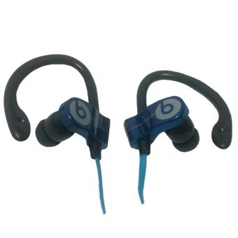 ... Beats by Dr Dre Power Beats Monster Stereo Earphones MD A109 Blue