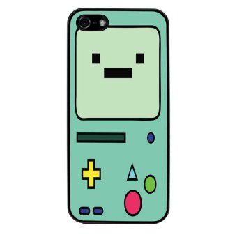 Beemo Adventure Time Pattern Phone Case for iPhone 4/4S (Black)