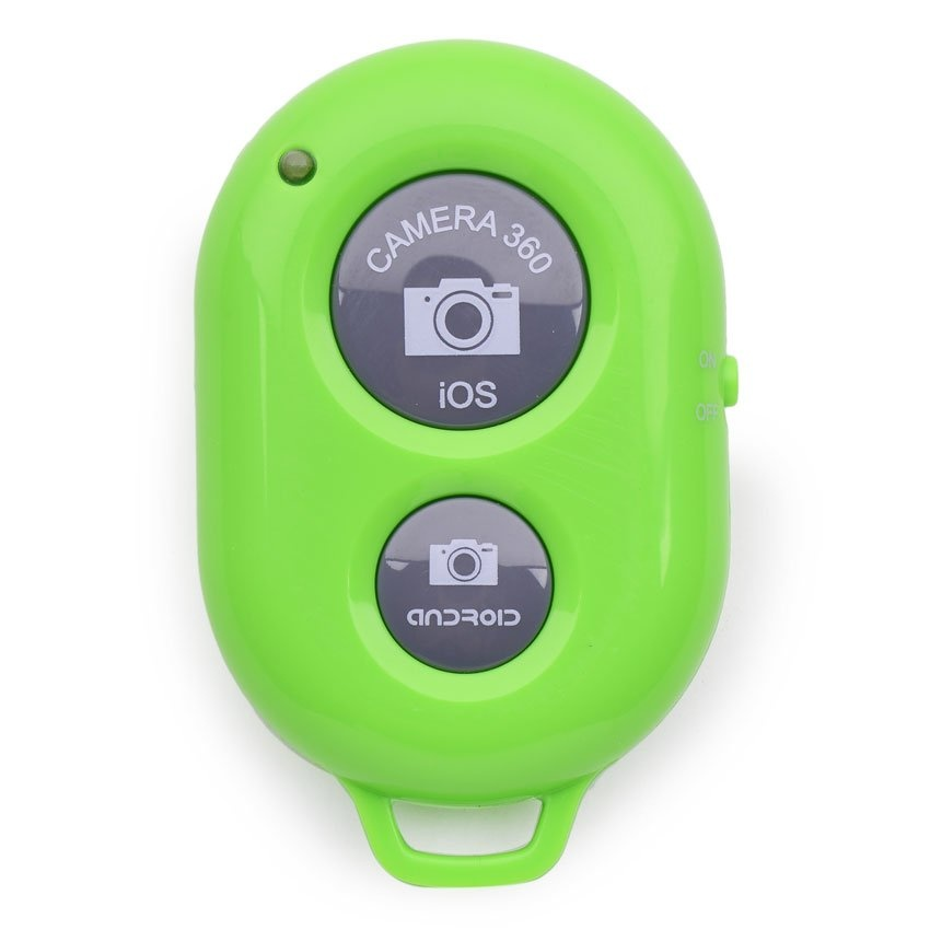 Below Srp Bluetooth Camera Remote Shutter For Apple And Android(Green) with Free Kds Beats-0022 100Db Stereo SubwooferOver-The-Ear Headphones (Black)