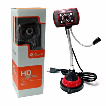 Bendable USB HD Webcam Web Cam Video Camera