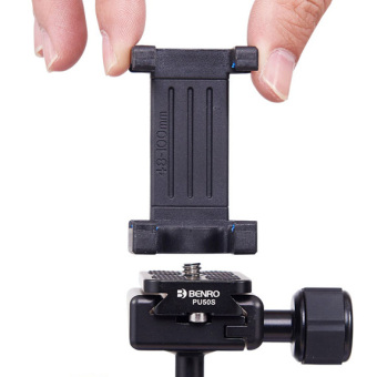 Benro self-rod adapter Mobile Phone mobile phone clip Tripod