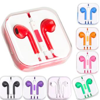 Best Quality New Fashion 3.5mm In-ear Earphone for Apple iPhone(violet) - 2