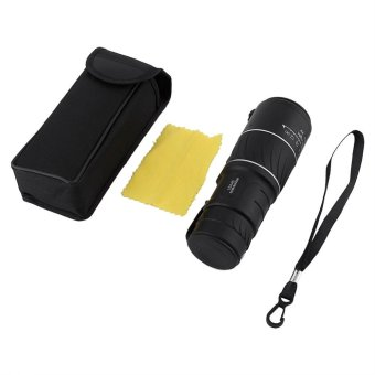 Black 10 x 40 Monocular Telescope Low Light Night Vision Dual FocusSports Hunting Survival Kit - intl - 5