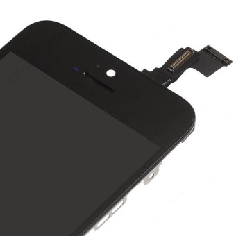 BLACK LCD Display with Touch Screen Digitizer For iPhone 5C - 2