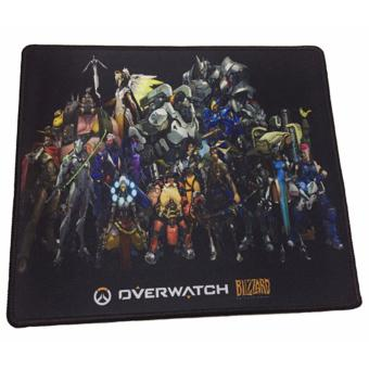 Blizzard H8-DC010 OverWatch Computer Professional Gaming MousePad(Black)