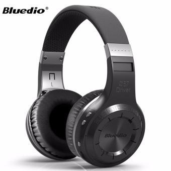 Bluedio Hurricane H Turbine Bluetooth 4.1 Headphone (Black)