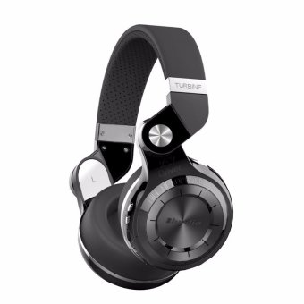 Bluedio T2+ Foldable Wireless Bluetooth Headset (Black)