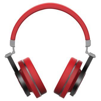 Bluedio T3 (Turbine 3rd) Extra Bass Wireless Bluetooth 4.1 Stereo Headphones(Red) - 3