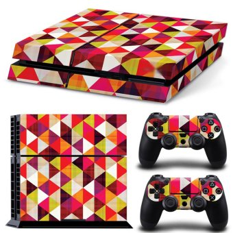 Bluesky Ps4 Console Full Skin Sticker Faceplates Paints Console Skin X 1 + Controller Skin X 2 (Multicolor) (Intl)