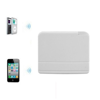 Bluetooth 30 Pin A2DP Music Receiver Adapter For iPhone Dock WH -intl