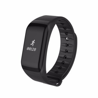 Bluetooth 4.0 Smart Watch Sports Smart Band Wireless Fitness BloodPressure Watch F1 Smart Bracelet Watch Heart Rate Monitor SmartBandfor IOS Andriod smart phones - intl