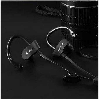 Bluetooth Headphones V4.1 Wireless Sport Stereo In-Ear Noise Cancelling Sweatproof Headset with APT-X/Mic for IOS and Android Phones(Black) - intl