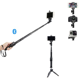 Bluetooth Selfie Stick With Mini Tripod Monopod For Gopro DLSR4-6inch phones - intl