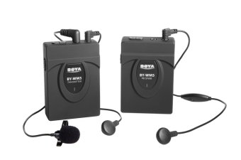 Boya WM5 Wireless Lapel with Lavalier Microphone