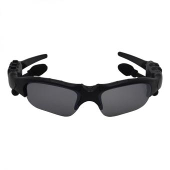 BTglasses THB368 Music Stereo Bluetooth Sun Glasses (Black) With M9Intelligent Phone Quad Smart Watch with Sim Card Slot(Black/Silver) - 3