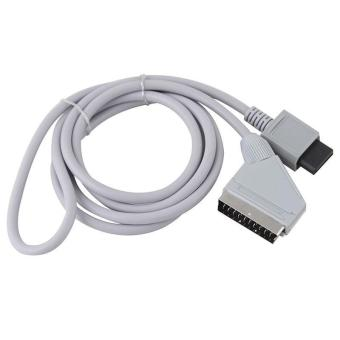 BUYINCOINS Audio Video Cable for Nintendo Wii Console (White)