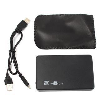 BUYINCOINS Hi-speed USB 2.0 SATA 2.5 Portable HDD Hard Disk Drive 500GB Enclosure HD Box - 3