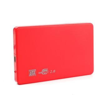 BUYINCOINS Hi-speed USB 2.0 SATA 2.5 Portable HDD Hard Disk Drive 500GB Enclosure HD Box