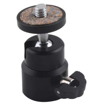 BUYINCOINS Mini Ball Head Bracket Holder Mount for Camera Tripod