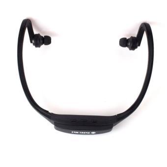 BUYINCOINS Sport Wireless Headset Black