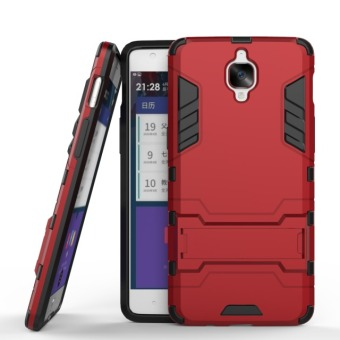 BYT Iron Man Hybrid Phone Case for OnePlus 3 (Red)